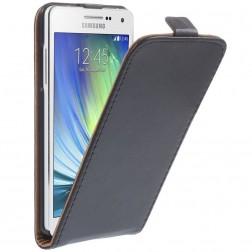 Klasikinis atverčiamas dėklas - juodas (Galaxy A5 2015)