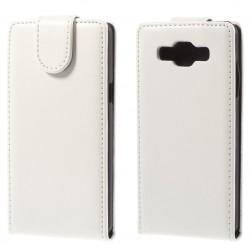 Klasikinis atverčiamas dėklas - baltas (Galaxy A5 2015)