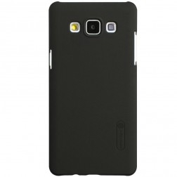 """""""Nillkin"""" Frosted Shield dėklas - rudas + apsauginė ekrano plėvelė (Galaxy A5)"""