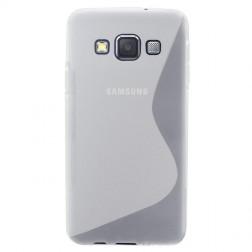 Kieto silikono (TPU) dėklas - skaidrus (Galaxy A5 2015)