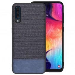 """Fashion"" kieto silikono (TPU) dėklas - mėlynas (Galaxy A50)"