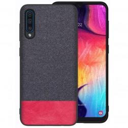 """Fashion"" kieto silikono (TPU) dėklas - pilkas (Galaxy A50)"