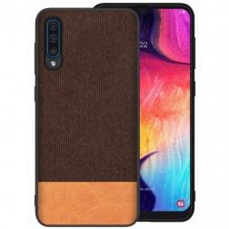 """""""Fashion"""" kieto silikono (TPU) dėklas - šviesiai rudas (Galaxy A50)"""