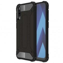 Sustiprintos apsaugos dėklas - juodas (Galaxy A50)