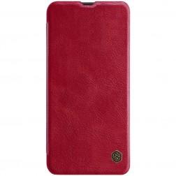 """""""Nillkin"""" Qin atverčiamas dėklas - raudonas (Galaxy A50)"""