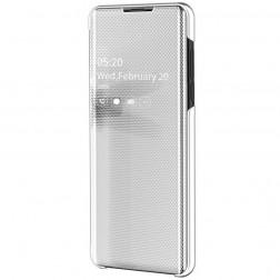 Plastikinis atverčiamas dėklas - sidabrinis (Galaxy A50)
