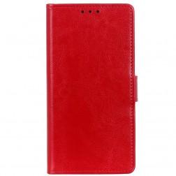 Atverčiamas dėklas - raudonas (Galaxy A50)