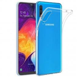 Ploniausias TPU dėklas - skaidrus (Galaxy A50)