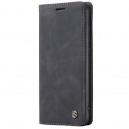 """""""CaseMe"""" Retro solidus atverčiamas dėklas - juodas (Galaxy A51)"""