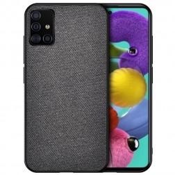 """Bi-Color"" Splicing dėklas - juodas (Galaxy A51)"