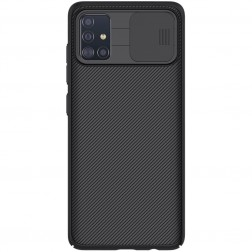 """Nillkin"" CamShield dėklas - juodas (Galaxy A51)"