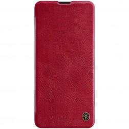 """""""Nillkin"""" Qin atverčiamas dėklas - raudonas (Galaxy A51)"""