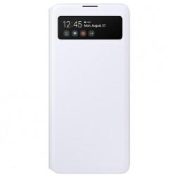 """Samsung"" S View Wallet Cover atverčiamas dėklas - baltas (Galaxy A51)"