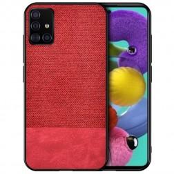 """""""Bi-Color"""" Splicing dėklas - raudonas (Galaxy A51)"""