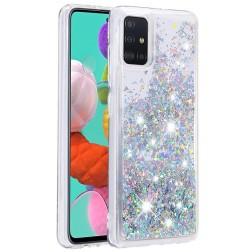 """""""Shine"""" kieto silikono (TPU) dėklas - skaidrus (Galaxy A51)"""