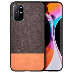 """Bi-Color"" Splicing dėklas - rudas (Galaxy A52 / A52s)"