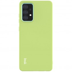 """Imak"" kieto silikono (TPU) dėklas - žalias (Galaxy A52 / A52s)"