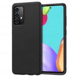 """""""Jazz"""" kieto silikono (TPU) dėklas - juodas (Galaxy A52 / A52s)"""