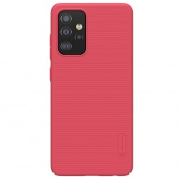 """Nillkin"" Frosted Shield dėklas - raudonas (Galaxy A52)"