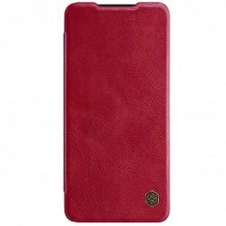 """""""Nillkin"""" Qin atverčiamas dėklas - raudonas (Galaxy A52)"""