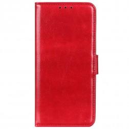 Atverčiamas dėklas - raudonas (Galaxy A52)