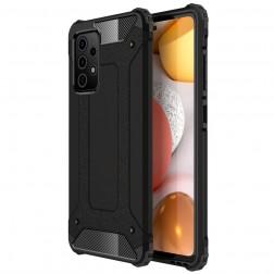 Sustiprintos apsaugos dėklas - juodas (Galaxy A52 / A52s)