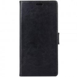 Atverčiamas dėklas, knygutė - juodas (Galaxy A6+ 2018)