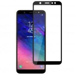 """""""Mocolo"""" Tempered Glass apsauginis ekrano stiklas 0.26 mm - juodas (Galaxy A6+ 2018)"""