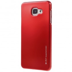 """""""Mercury"""" dėklas - raudonas (Galaxy A7 2016)"""