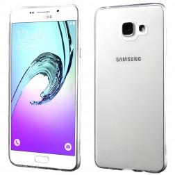 Kieto silikono (TPU) dėklas - skaidrus (Galaxy A7 2016)