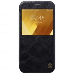 """""""Nillkin"""" Qin atverčiamas dėklas - juodas (Galaxy A7 2017)"""