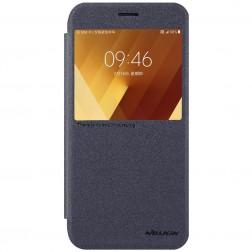 """""""Nillkin"""" Sparkle atverčiamas dėklas - pilkas (Galaxy A7 2017)"""