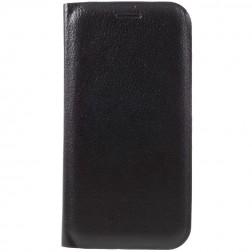 """""""Flip Wallet"""" atverčiamas dėklas - juodas (Galaxy A7 2017)"""