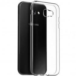 Kieto silikono (TPU) dėklas - skaidrus (Galaxy A7 2017)