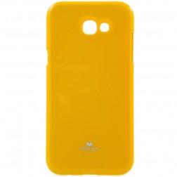 """""""Mercury"""" dėklas - geltonas (Galaxy A7 2017)"""