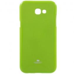 """""""Mercury"""" dėklas - žalias (Galaxy A7 2017)"""