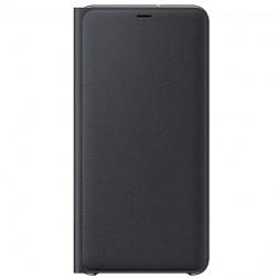 """""""Samsung"""" Wallet Cover atverčiamas dėklas - juodas (Galaxy A7 2018)"""