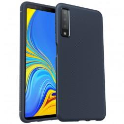 """Lenuo"" kieto silikono (TPU) dėklas - mėlynas (Galaxy A7 2018)"