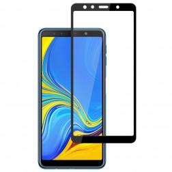 """""""Mocolo"""" Tempered Glass apsauginis ekrano stiklas 0.26 mm - juodas (Galaxy A7 2018)"""