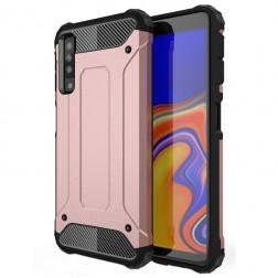 Sustiprintos apsaugos dėklas - rožinis (Galaxy A7 2018)