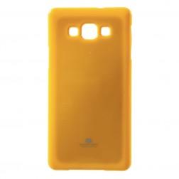 """""""Mercury"""" dėklas - geltonas (Galaxy A7)"""