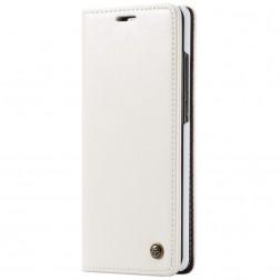"""""""CaseMe"""" solidus atverčiamas dėklas - baltas (Galaxy A70)"""