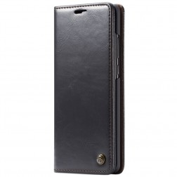 """""""CaseMe"""" solidus atverčiamas dėklas - juodas (Galaxy A70)"""