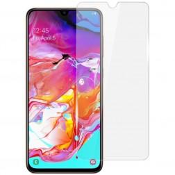 """""""Imak"""" apsauginė ekrano plėvelė (pilnai dengianti) - skaidri (Galaxy A70)"""