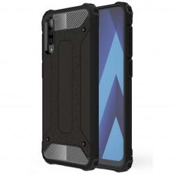 Sustiprintos apsaugos dėklas - juodas (Galaxy A70)
