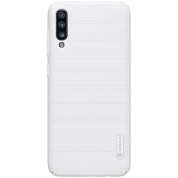 """Nillkin"" Frosted Shield dėklas - baltas (Galaxy A70)"