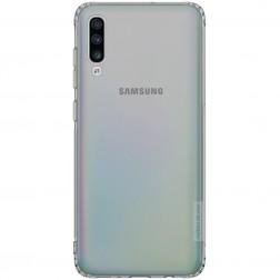 """""""Nillkin"""" Nature TPU dėklas - pilkas (Galaxy A70)"""