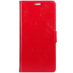 Atverčiamas dėklas - raudonas (Galaxy A70)