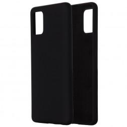 """""""Shell"""" kieto silikono (TPU) dėklas - juodas (Galaxy A71 5G)"""