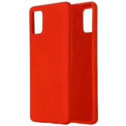 """""""Shell"""" kieto silikono (TPU) dėklas - raudonas (Galaxy A71 5G)"""